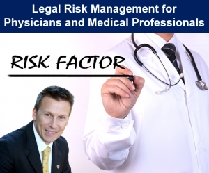 "Eric presents on the key action steps that physicians and medical professionals can take to reduce exposure to legal risk, in his seminar, ""Legal Risk Management for Physicians and Medical Professionals"" via Live Webinar"