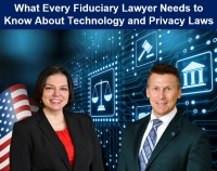 Eric and Teresa present for the Orange County Bar Association's Estate, Guardianship & Trust Committee on legal and technology issues fiduciaries may incur accessing digital accounts or assets belonging to the ward or estate they represent
