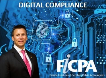 "Eric presents his seminar ""Digital Compliance:  Potential Perils involving Digital Theft, Smart Machines, Connected Devices, and other Privacy areas for Accountants"" to the FICPA Central Florida Chapter at the Citrus Club in Orlando"