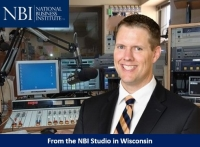 "Brian heads into the recording studio in Eau Claire, Wisconsin with the National Business Institute where he presents on ""Cryptocurrency, Bitcoin, Blockchain and More: A Legal Guide"" (recorded for national distribution)"