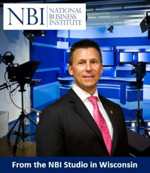 "Eric heads into the recording studio in Eau Claire, Wisconsin with the National Business Institute where he presents on ""Using LLCs to Protect Assets"" (recorded for national distribution)"