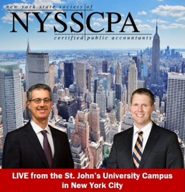 "Gary and Brian present their seminar ""Foreign Taxation with Associated Asset Protection and the Impact of Cryptocurrencies"" from the St. John's University campus in New York City"