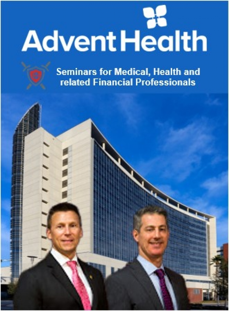"Eric and Gary present 2 seminars from their popular Eleven Commandments of Asset Protection series, ""Commandment #3:  Avoid 'Late Stage' and ""Commandment #8:  Planning Need Not Be Complicated"" for AdventHealth Orlando"