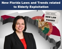 "Teresa continues our series on Protecting Senior Citizens from Financial Exploitation Scams with her newest seminar, ""New Florida Laws and Trends related to Elderly Exploitation"" via Live Webinar"