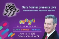 "Gary presents his seminar ""Don't Do Asset Protection"" Live from the Sorcerer's Apprentice Ballroom at the Disney Contemporary Resort"