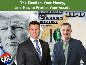 "Eric discusses ""The Election, Your Money, and How to Protect Your Assets"" with financial advisor Michael Clark from Raymond James Financial via Live National Webinar"