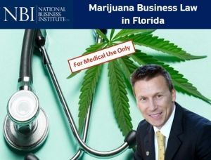 "Eric presents two of his newest seminars ""Marijuana Businesses Law in Florida"" and ""Obtaining a Florida Cannabis Business License"" for the National Business Institute's Marijuana Business Law program"