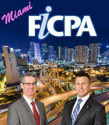 "Gary and Eric head back into Miami to present their latest seminar ""Cryptocurrencies and Asset Protection"" for the FICPA South Dade at the Killian Green Golf Course in Miami"