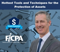 "Gary presents for the FICPA's Florida Fall University Conference, his seminar, ""Hottest Tools and Techniques for the Protection of Assets"" via Live National Webinar"
