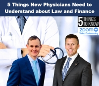 "Eric discusses ""5 Things New Physicians Need to Understand about Law and Finance"" with financial advisor Michael Clark from Raymond James Financial via Live National Webinar"