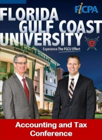 "Gary and Brian present their seminar ""U.S. Taxation of Trusts Domestic and International"" at the Florida Gulf Coast University Accounting & Tax Conference in cooperation with the FICPA"