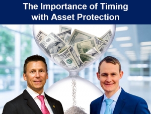 "Eric discusses ""The Importance of Timing with Asset Protection"" with financial advisor Michael Clark from Raymond James Financial via Live National Webinar"