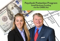 "Paige and Skip provide businesses with crisis relief information in their seminar ""Paycheck Protection Program for Small Businesses in the CARES Act"" via Live National Webinar"